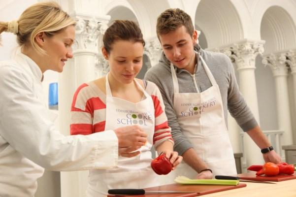 Edinburgh new town cookery school