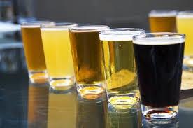 Williams brothers brewery beer tasting Scran salon Glasgow