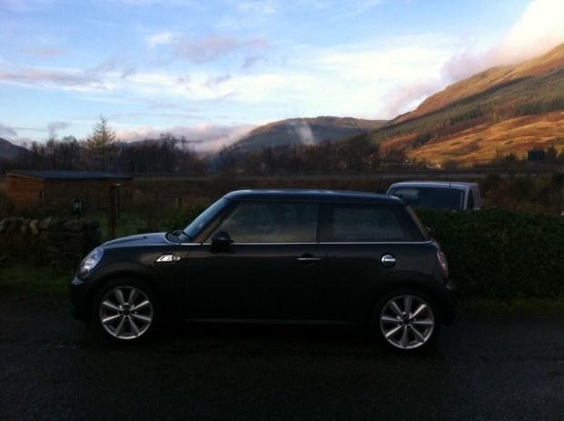Mini Cooper SD europcar scotland