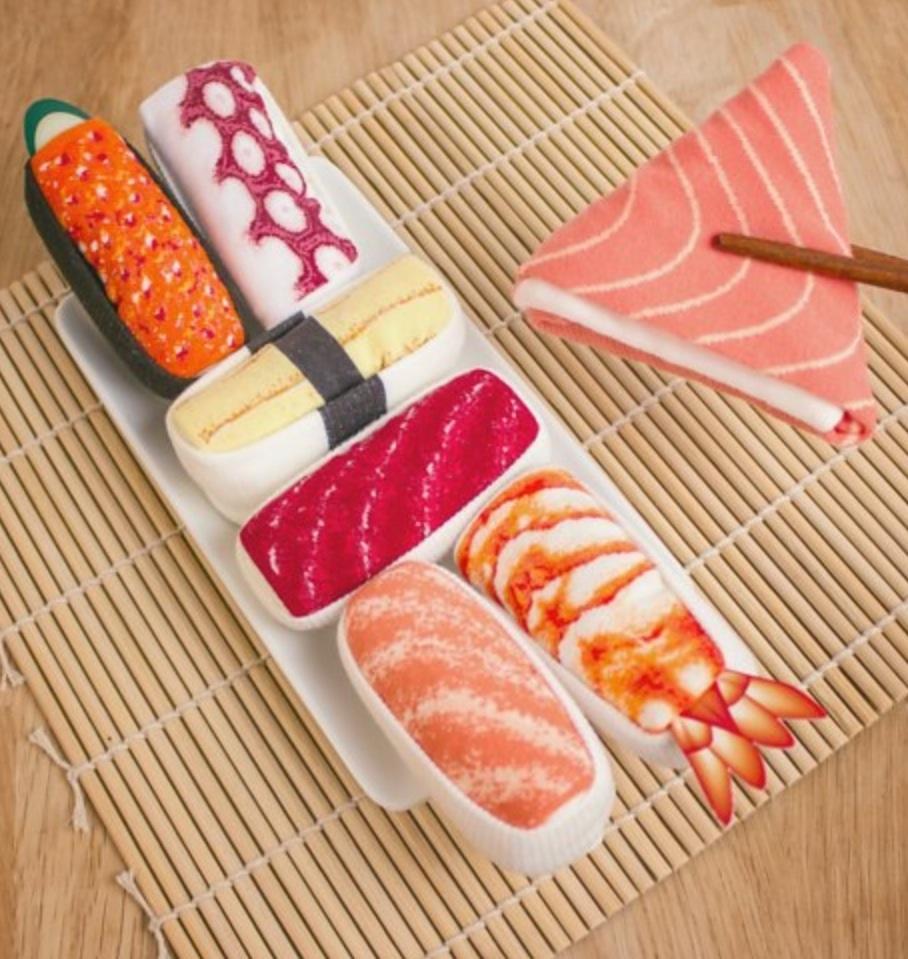 Sushi socks christmas gift