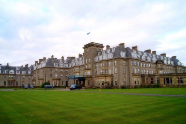 Gleneagles Perthshire scotland