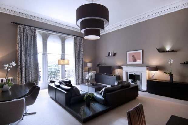 grand apartment lounge  the chester residence edinburgh