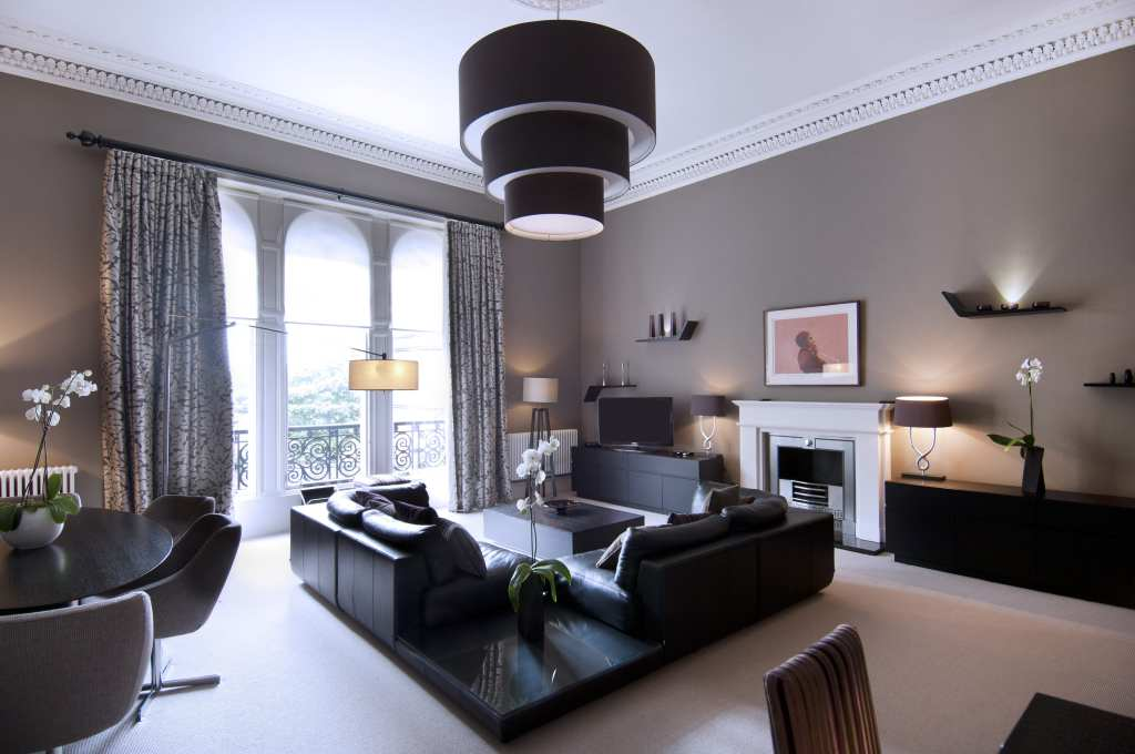 grand apartment lounge the chester residence edinburgh