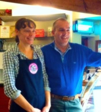 Stewart tower dairy Stanley oerth Perthshire Gleneagles Neil Linsey butler