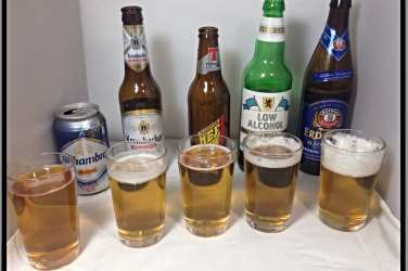 Low alcohol beer taste test