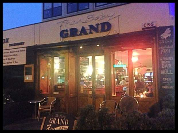 The baby grand west end Charing cross glasgow