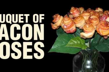 Bacon roses valentines day
