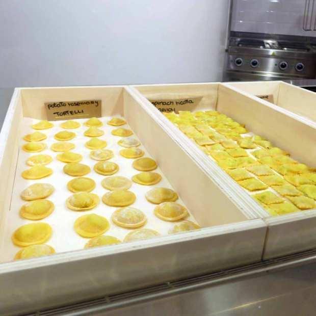 Pastificio Mangio - filled pasta selection