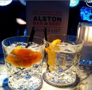 Cocktail bars Glasgow