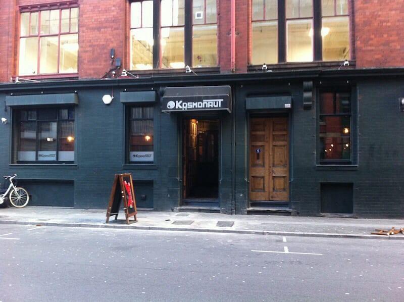 Kosmonaut bar Manchester