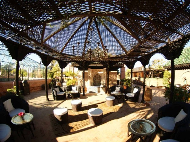 La Sultana - roof terrace gazebo