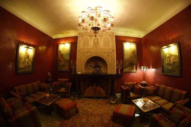 La Sultana - cosy seating areas