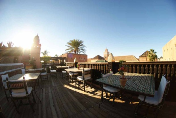 La Sultana - roof terrace restaurant