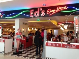 Ed's diner st Enoch shopping centre glasgow