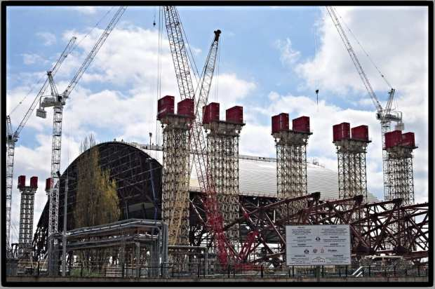 new sarcophagus, Chernobyl Power Station