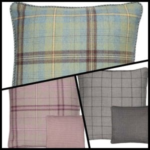 Scotland shop tartan cushions Mother's Day