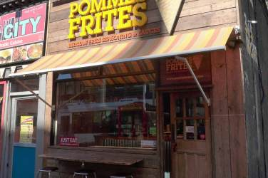 Pommes Frites - from outside