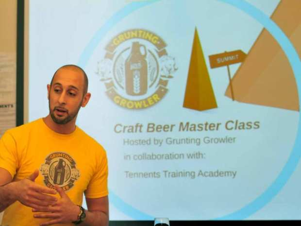 Grunting Growler @ Tennent's Training Academy
