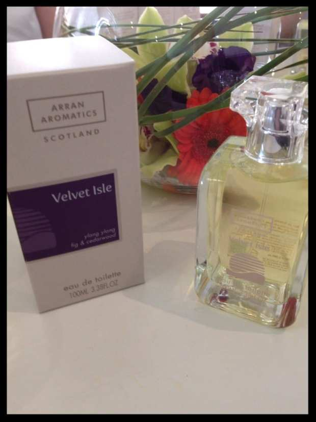 velvet isle arran aromatics food drink glasgow foodie summer scent