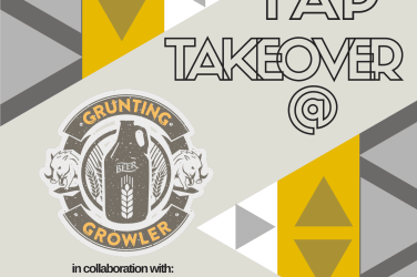Grunting Growler Tap Takeover