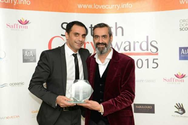 Indi Singh and Cook Gill Curry Kings 2015