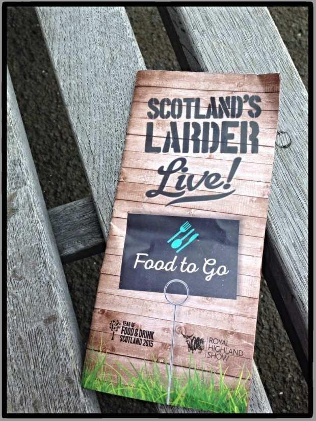 royal highland show scotlands larder live food to go