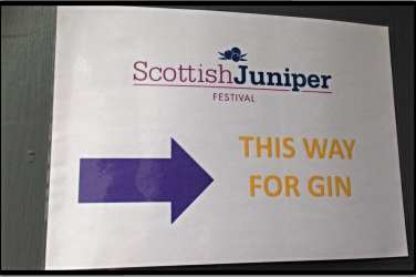 scottish juniper festival summerhall gin edinburgh glasgow foodie