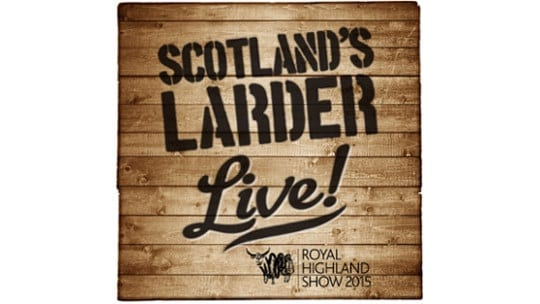 royal highland show scotlands larder live food to go