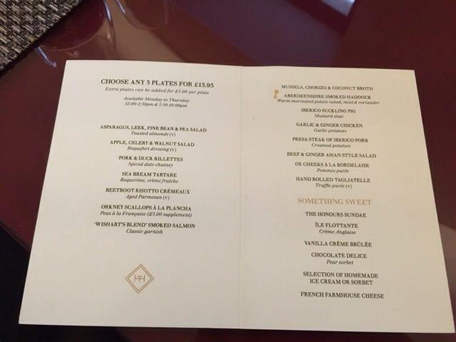 le petit honours malmaisom glasgow martin wishart tapas glasgow foodie explorers