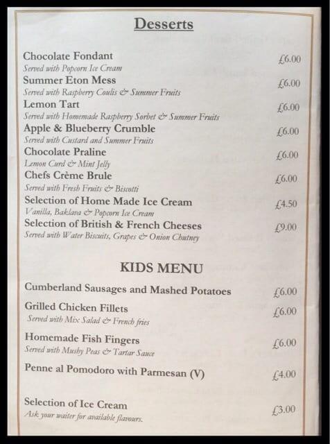 menu crockers folly london review food drink glasgow foodie explorers