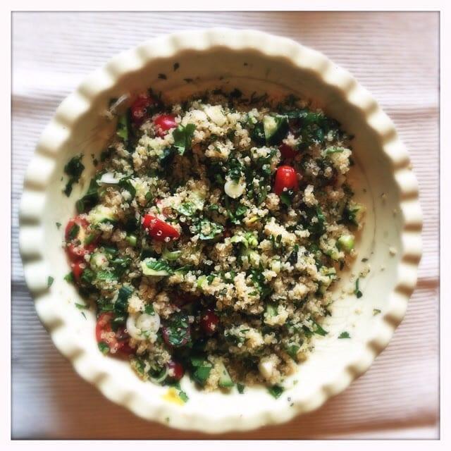 herby quinoa recipe
