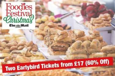 foodies festival edinburgh christmas