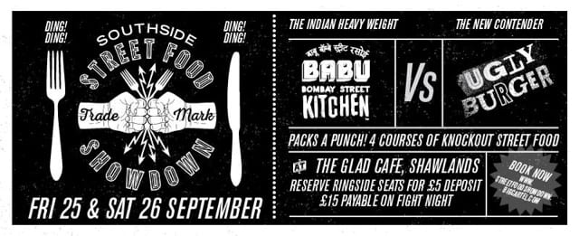 southside street food showdown glad cafe babu bombay kitchen ugly burger