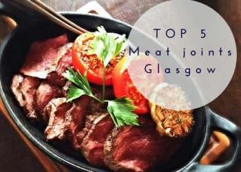 top 5 meat roast sunday lunch brunch food glasgow