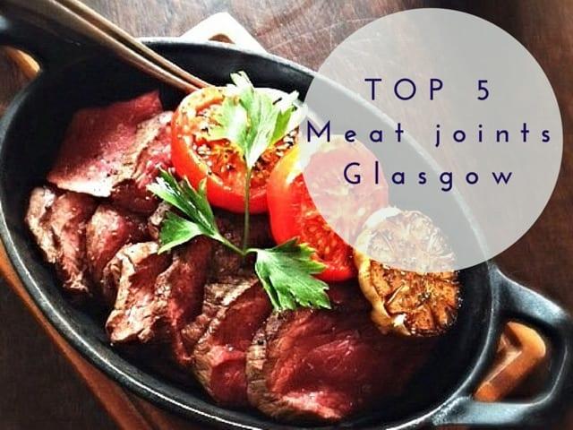 top 5 meat roast sunday lunch brunch food glasgow