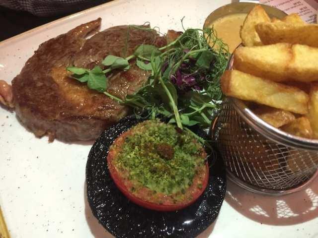 Black_Dove-Steak rib eye glasgow foodie explorers