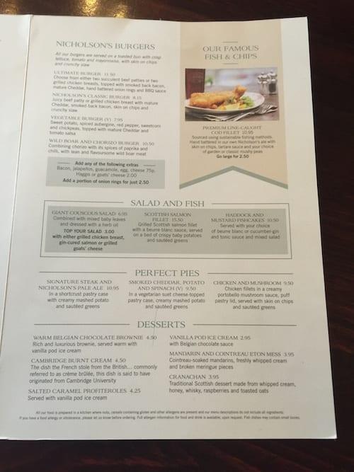 glasgow foodie explorers food travel blog Drum_and_monkey_menu2