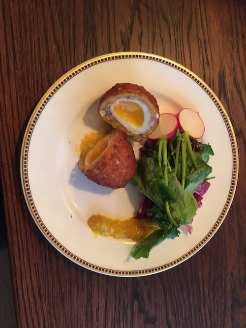 glasgow foodie explorers food travel blog Trading_House_Glasgow_Scotch_Egg