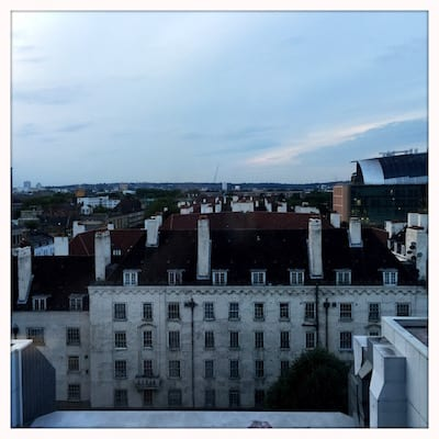 Pullman Hotel London St Pancras, room view