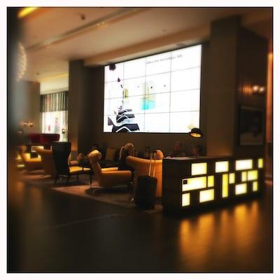 Pullman Hotel London St Pancras, Lobby Seating