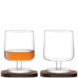lsa international cognac glass copper christmas house interior lifestyle decor