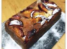 Recipe: Lemon Pound Cake with Plums