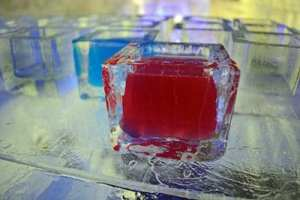 Baltic ice bar glasgow glass shot