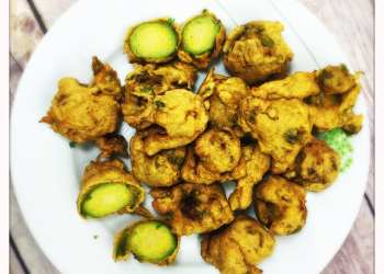 brussels sprouts pakora recipe christmas