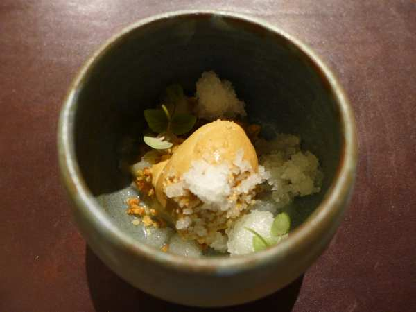 L'enclume - Pear, toasted oats and lactose