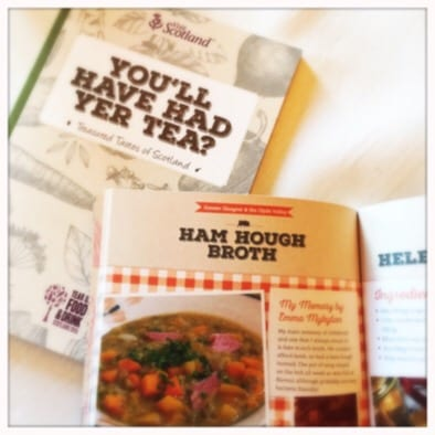 Visit scotland recipe book launch
