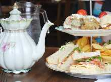 Day Twenty Three of Foodiemas: WIN Fizzy Afternoon Tea at The Butterfly and The Pig