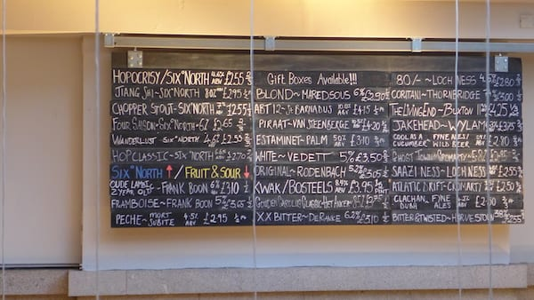 six_degrees_north_aberdeen_Beer_list_board