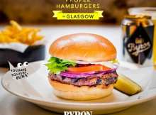 25p Proper hamburgers at Byron Tuesday 22nd March – Glasgow