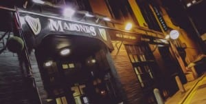 image malone's bar glasgow